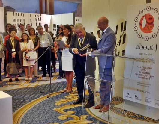 """""""about J"""" luxury fair opens in Venice"""