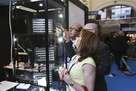Spectacular diamonds on show as Antwerp Diamond Trade Fair opens