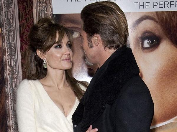 Angelina Jolie, Robert Procop, Green Beryl Tablet Earrings, The Tourist