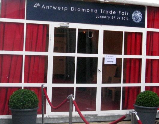 Antwerp Diamond Trade Fair opens, strong enquiries