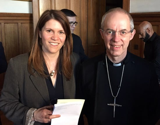 Cred Jewellery Creates Fairtrade Silver Medals for Archbishop Of Canterbury's Lambeth Awards