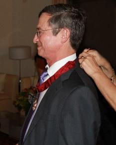 Avi Paz awarded Ordre de la Couronne