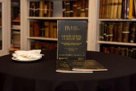British Academy of Jewellery's Graduation returns to Royal Institution of Great Britain