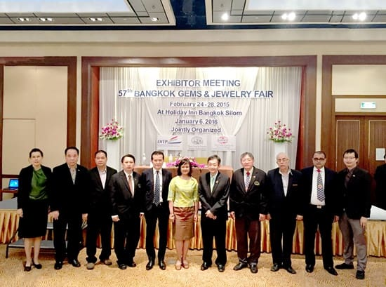 Bangkok Gems and Jewelry Fair to attract tens of thousands of buyers