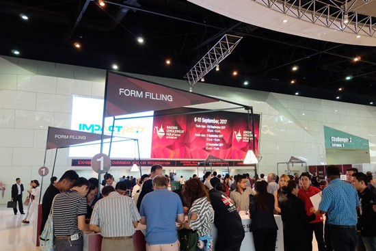 Exhibition space filling up fast at Bangkok February 2018 show