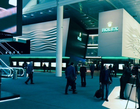 Heavy footfall on opening day of Baselworld