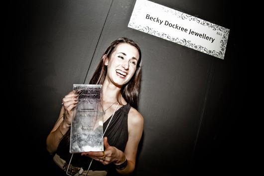 Becky Dockree goes platinum after winning Weston Beamor award