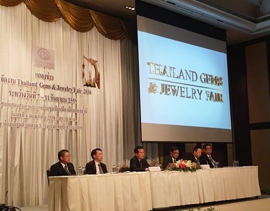 TGJTA prepares to host Thailand Gems & Jewelry Fair 2016