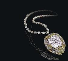 Christie's announces sale of 13.2 carat THE BLUE diamond