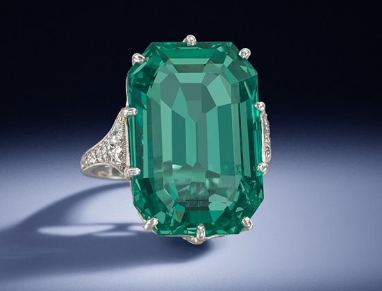 A stroll through the Garden of Emeralds with Bonhams and Van Cleef & Arpels