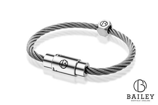 stainless steel bracelets from Bailey of Sheffield