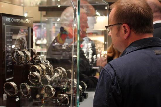 Burrells jeweller celebrates arrival of Tudor watches
