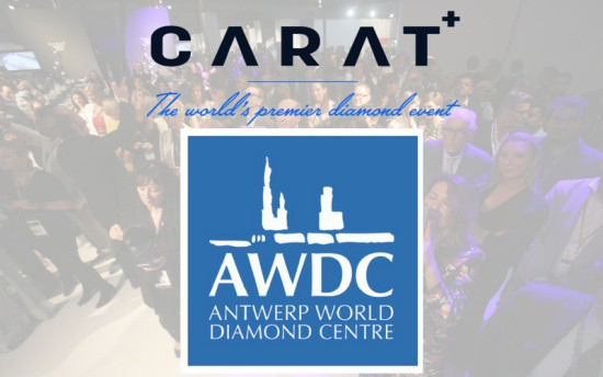 CARAT+ welcomes Antwerp World Diamond Centre (AWDC) as Main Partner