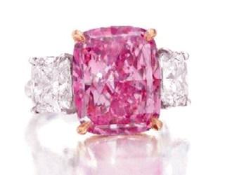 Christie's, Fancy Vivid purplish-pink diamond, New York, pink diamond, Rahul Kadakia, Head of Jewellery