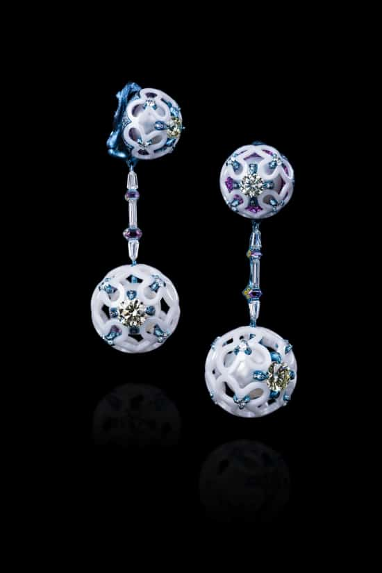 """Wallace Chan to show """"super-hard"""" porcelain jewellery in Hong Kong"""