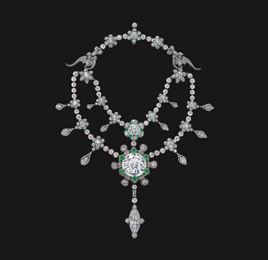 diamond jewellery masterpiece crafted by Wallace Chan