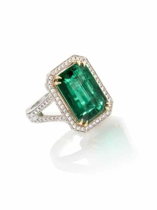 Extraordinary emerald ring headlines Chiswick Auctions sale
