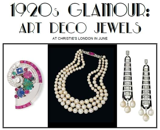 Jewellery News-Christie's to stage Art Deco jewels sale in June