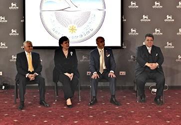 CIBJO president participates in jewellery show in Armenia