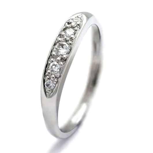 Catherine Jones platinum ring for charity
