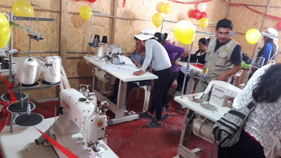 CMJ retailers, suppliers help fund sewing project in Peru