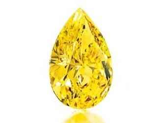 Fancy vivid yellow diamond to lead Christie's New York sale