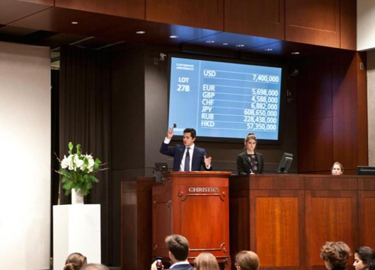 Christie's New York achieves over $163 million in jewellery auction sales in 2012