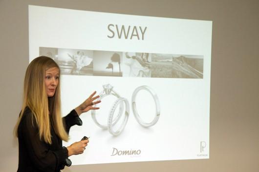Domino showcases platinum bridal collection