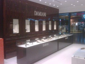 Damiani opens at Istanbul airport