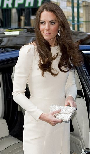 Duchess of Cambridge wears Beaut earrings