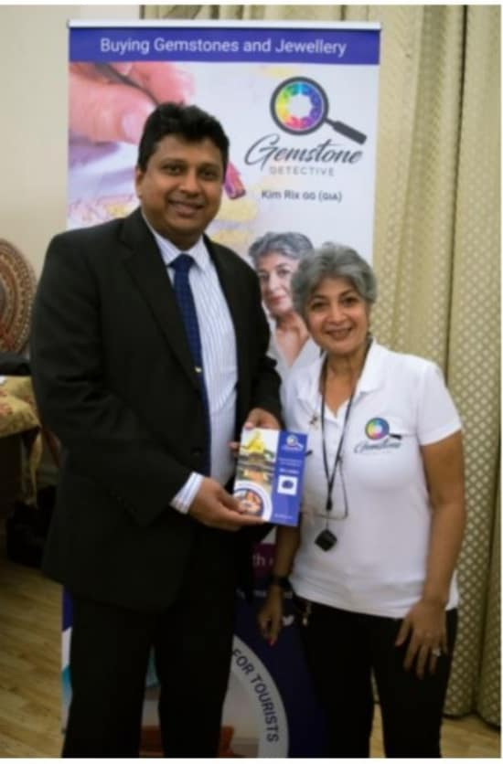Gemstone Detective guide book launched in London