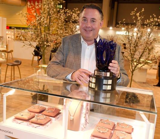 Pandora wins design award from Company of Master Jewellers