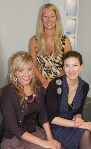 Kelly Hart, Naomi Newton-Sherlock and Siobhan Maher