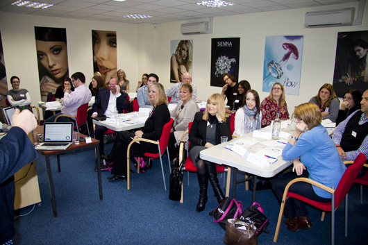 Retailers join platinum training day at Domino