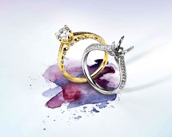 Irresistible rings from Domino's 2014 Sienna Collection