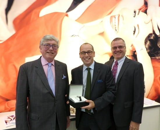 Domino honours Jim Buglass