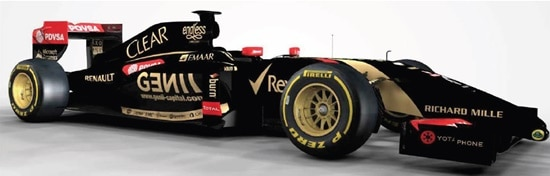 Lotus F1 team concludes Endless deal