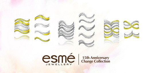 BASELWORLD: Esmé jewel collection inspired by DNA and Change