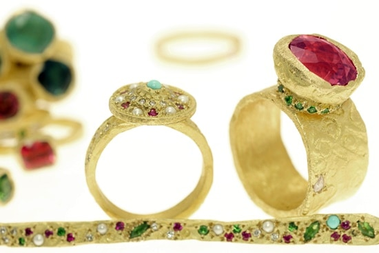 Esther Assouline jewels, on show in Paris, reflect memory, origins