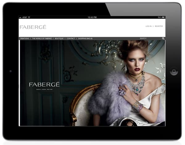 Faberge launches new online boutique