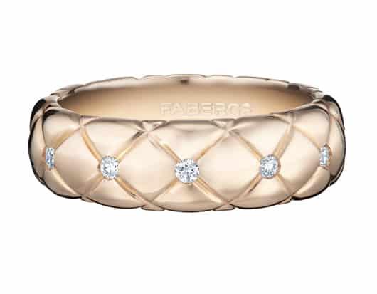 Fabergé launches new Matelassé pieces