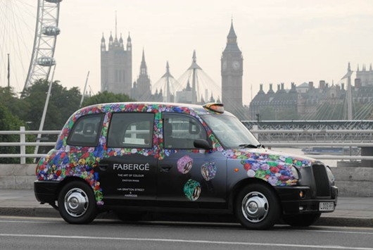 Jewellery News-Fabergé unveils London taxi livery