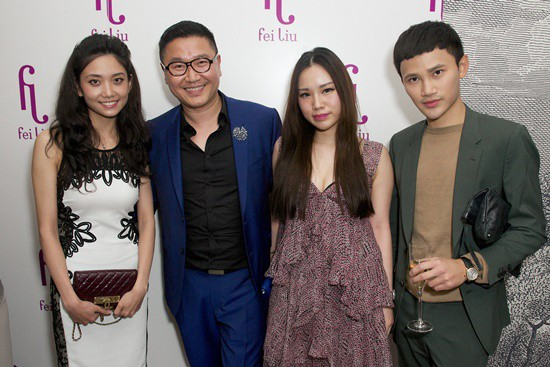 Fei Liu toasts 10th anniversary with glittering jewellery exhibit