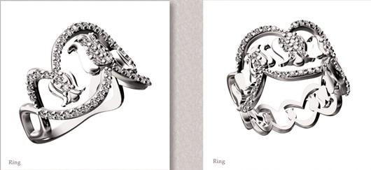 Fei Liu collaborates with Rio Tinto on diamond jewellery collection