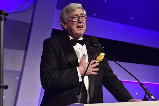 Patrick Fuller receives 'Outstanding Contribution' Award