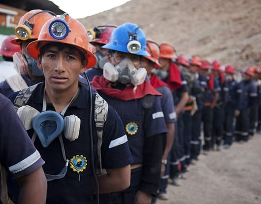 gold miners from Peru