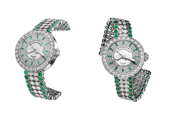 Backes and Strauss, Gemfields create 'pièce unique' watch