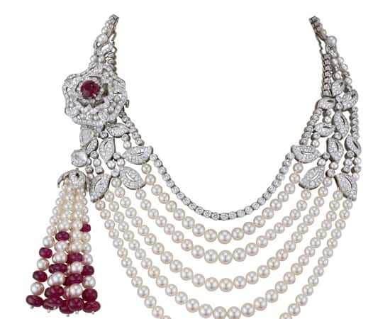 Garrard trophies and jewellery showcased at Royal Ascot