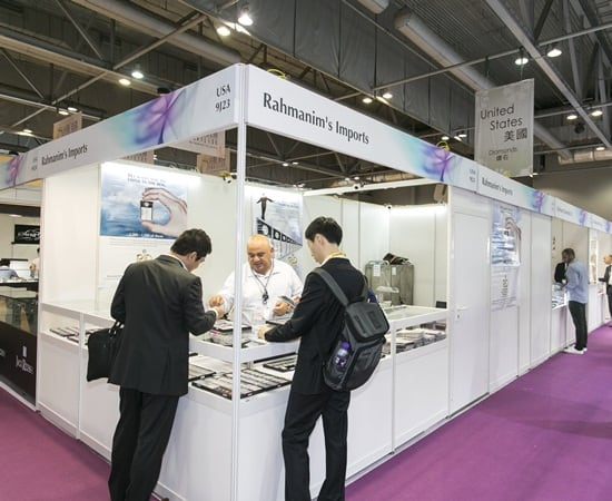 Strong turnout at Hong Kong jewellery and gem show