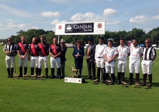 Ganjam jewels showcased at Ganjam Jaipur Trophy polo event